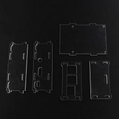 Toko Diy Transparan Acrylic Case Untuk 3 5 Inch Tft Screen Raspberry Pi B Intl Lengkap Tiongkok