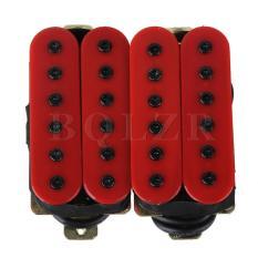 Beli Double Gitar Koil Humbucker Pikap Merah Lengkap