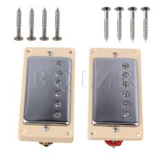 Beli Kumparan Ganda Humbucker Pickup For Gitar Krem Oem