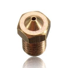 E3D V6 Nosel Terbuat dari Kuningan 1mm 1.0 untuk 1.75mm Filamen E3DV6 Tembaga Nozel Alat Pengekstrusi Kepala Cetak KUALITAS TERBAIK untuk 3 D Aksesoris Printer