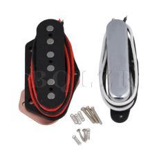 Harga Electric Guitar Closed Neck Pickups And Bridge Pickups Set Of 2 Silver Murah