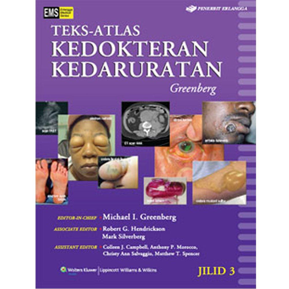 Erlangga Buku - Atlas Kedokteran Kedaruratan Jl 3 : Greenberg