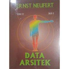 Erlangga Buku - Data Arsitek Jl.2 Ed.33 Ernst Neufert