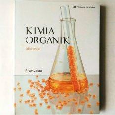 Toko Erlangga Buku Kimia Organik Ed 2 Riswiyanto Online Terpercaya