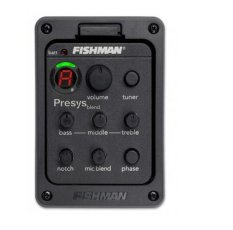 Toko Fishman Presys 301 Mikrofon Campuran Dual Model Gitar Preamp Eq Tuner Piezo Pickup Mengalahkan Murah Tiongkok
