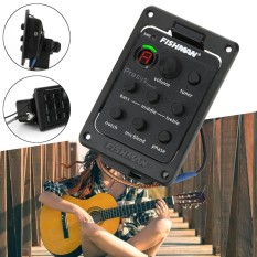 Fishman Presys Blend 301 Akustik EQ Equalizer Preamp Gitar Piezo Pickup Tuner-Intl