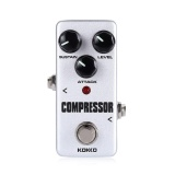 Review Pada Flanger Kokko Compressor Pure Analog Circuit True Bypass Design Mini Guitar Effect Pedal Intl