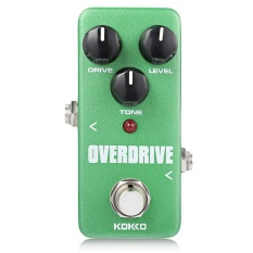 Spek Flanger Kokko Overdrive Pure Analog Circuit True Bypass Design Mini Guitar Effect Pedal Intl Tiongkok