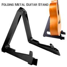 FLANGER Stand Gitar Akustik dan Elektrik Import - Hitam