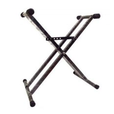 Focus Keyboard Stand Double-Hitam By Cahaya Sport.