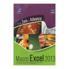 FROM ZERO TO ADVANCE MACRO EXCEL 2013