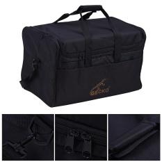 GECKO L03 Standar Dewasa Cajon Box Drum Bag Backpack Case 600D 5mm Cotton Padding dengan Carry Handle Shoulder Strap -Intl