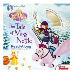 Genius Buku Anak Disney Sofia The First The Tale Of Miss Nettle Read-Along Storybook And Cd By Genius Baby Book.