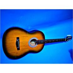 gitar akustik pemula cocok suara enak neck empuk