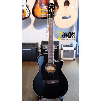 Gitar Ibanez AEG8E - BK Akustik Elektrik
