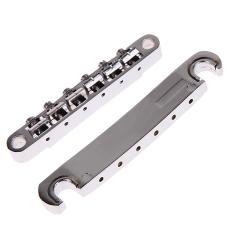 Beli Barang Gitar Tunomatic Komponen Jembatan Stopbar Ditetapkan Untuk Gitar Lp I80 Krom Online