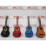 Spesifikasi Gitar Ukulele Kentrung 4 Senar Nylon Merk Shen Shen Original Bagus