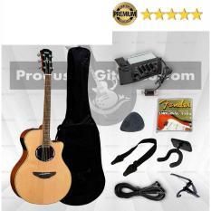 Gitar Yamaha APX 500 II Akustik Elektrik Paket
