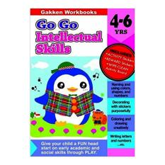 Gakken Go Go Intellectual Skills Book Age 4-6 Years Old