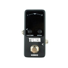 Toko Good Pedal Tuner Guitar Bass Violin Stringed Instruments Tuner Effect Device Black Intl Online