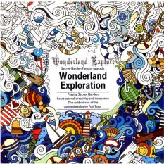"Hanyu Secret Garden Wonderland Buku Mewarnai Bandung Photo: ""-anak Orang Dewasa Eksplorasi Meredakan Stres Killed Waktu Coretan Lukisan Menggambar Buku 12 Lembar Kertas (tidak Berhiasan)"