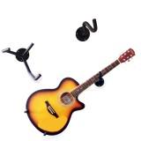 Beli Tinggi Kualitas Electric Guitar Wall Hanger Slatwall Horizontal Gitar Akustik Pemegang Bass Stand Rack Kait Internasional Kredit Tiongkok