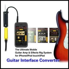 Ulasan Lengkap Tentang Hot Menjual Mini Rig Gitar Link Audio Antarmuka Sistem Amplifier Amp Gitar Efek Pedal Converter 3 5Mm Jack Adaptor Kabel Intl