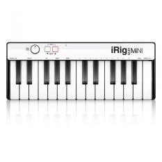 IK Multimedia iRig Keys Mini Universal Mobile Keyboard with Lightning Connector