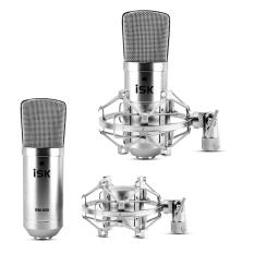Isk Bm 800 Kondensor Studio Rekaman Musik Membuat Siaran Mikrofon Terbaru