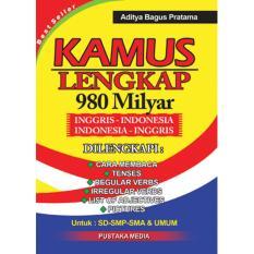Kamus Inggris - Indonesia Lengkap 980 Milyar By Amar Jaya Shop.