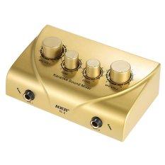 Karaoke Suara Mixer Rangkap Mikrofon Input With Kabel