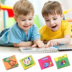 Anak Perkembangan Kecerdasan Anak Bermain Membaca Soft Cloth Buku Belajar Bayi-Intl By Costel.