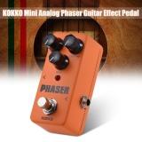 Beli Kokko Mini Analog Phaser Gitar Listrik Fase Efek Pedal Truebypass Full Metal Shell Intl Seken