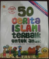 Komik 50 Cerita Islami Terbaik Untuk Anak -Anak (Soft Cover)Original