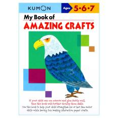 Jual Cepat Kumon Workbooks My Book Of Amazing Crafts