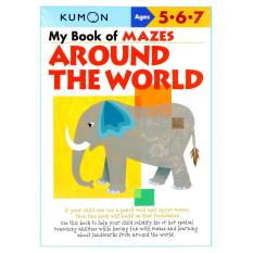 Jual Kumon Workbooks My Book Of Mazes Around The World Kumon Online