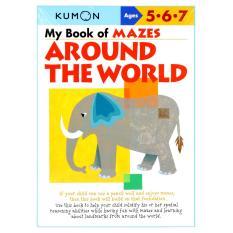 Review Terbaik Kumon Workbooks My Book Of Mazes Around The World