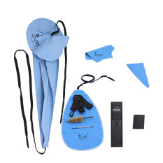 Promo Lade 10 In 1 Saksofon Cleaning Perawatan Kit Belt Thumb Rest Cushion Reed Case Mouthpiece Brush Mini Obeng Kain Pembersih Lade Terbaru