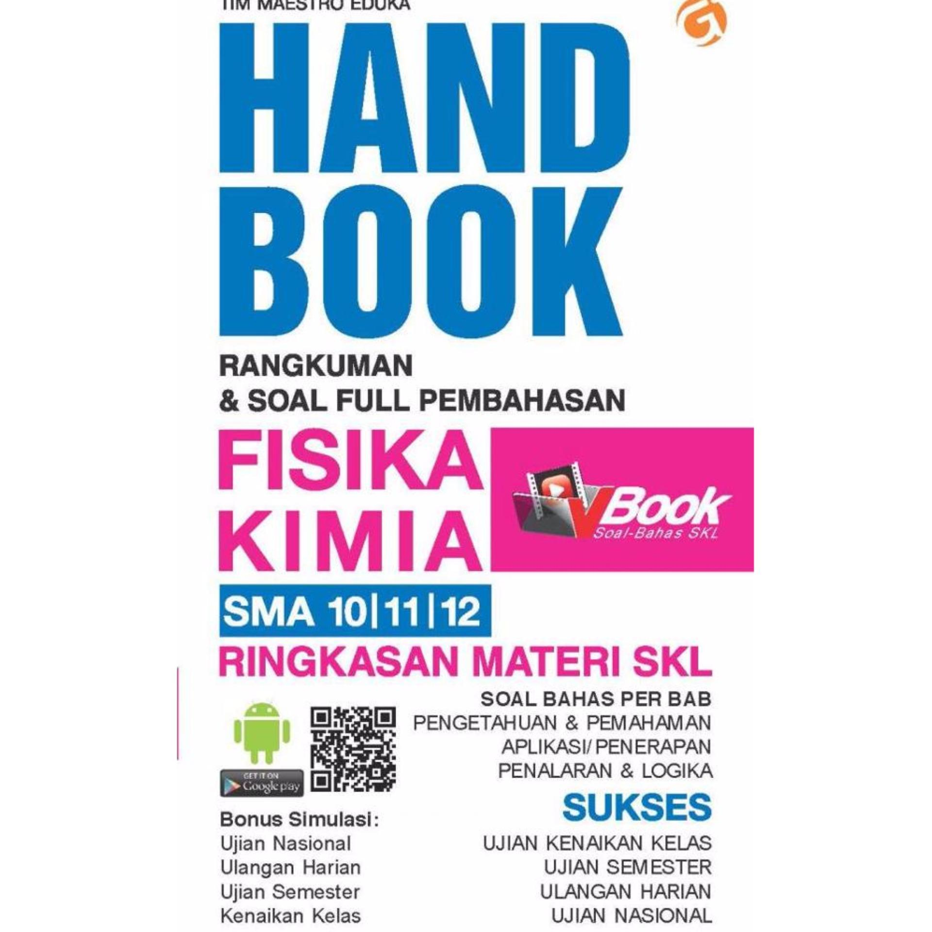 Magenta Group HAND BOOK FISIKA KIMIA SMA 10, 11, 12 Genta Smart
