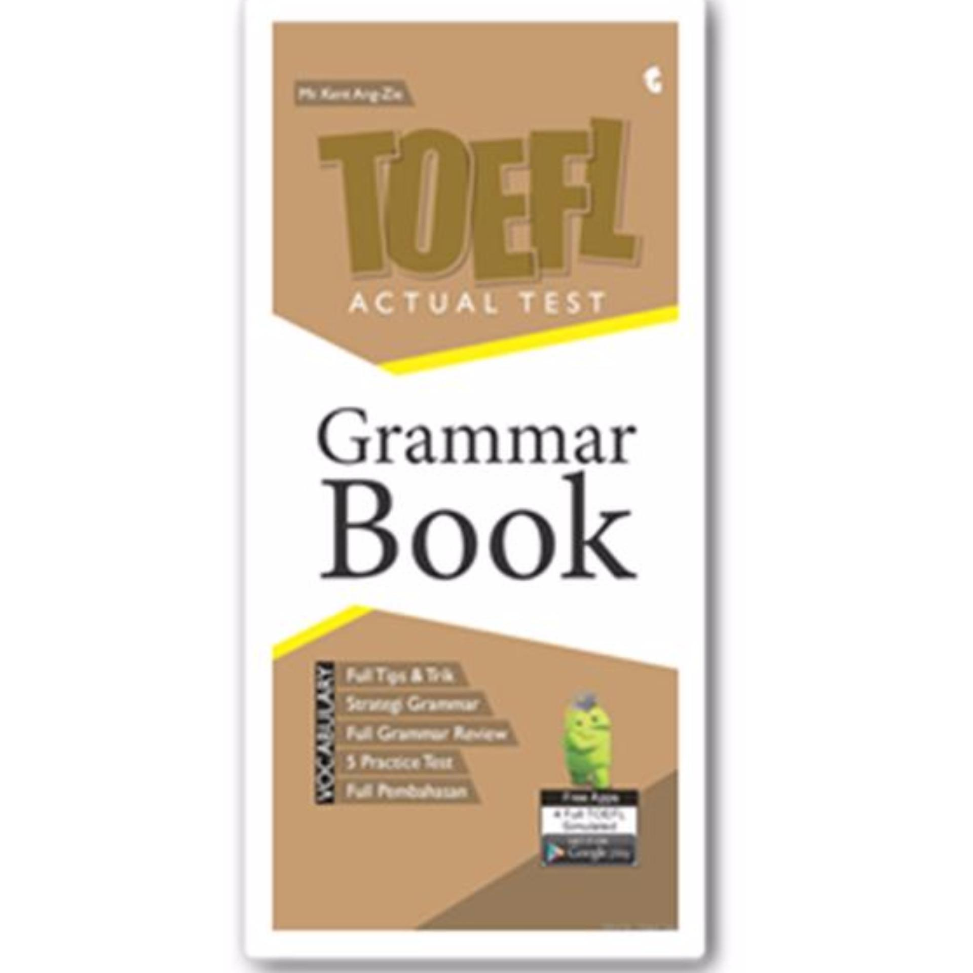 Magenta Group TOEFL Actual Test: Grammar Book Genta Smart