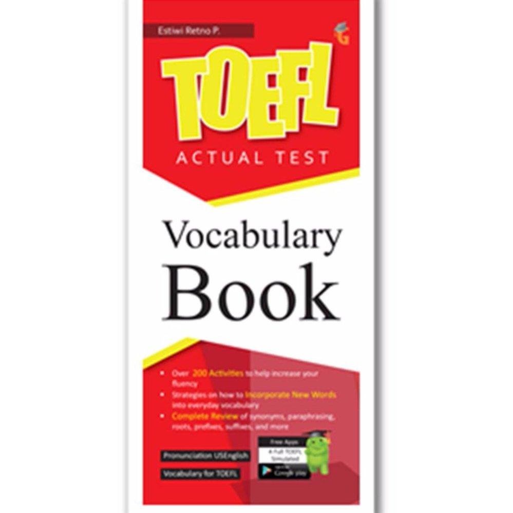 Magenta Group TOEFL Actual Test: Vocabulary Book Genta Group