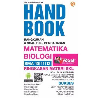 Magenta Media HAND BOOK MATEMATIKA BIOLOGI SMA 10, 11, 12 Genta Group Production