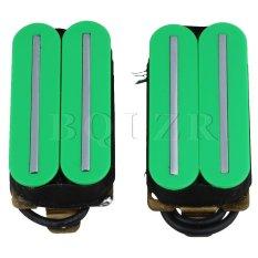 Beli Magnet Dual Coil Dual Rail Humbucker Pickup Untuk Gitar Listrik Hijau Intl Lengkap