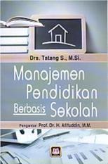 Daftar Harga Manajemen Pendidikan Berbasis Sekolah Drs Tatang S M Si Buku Multi