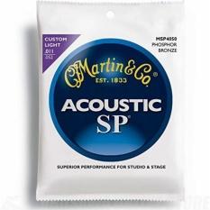 Rp 245591 Martin MSP 4050 SP Perunggu Fosfor Custom Light Akustik Gitar String IntlIDR245591