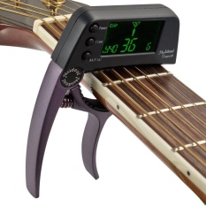Toko Meideal Tcapo20 Quick Change Key Capo Tuner Alloy Material For Acoustic Electric Guitar Bass Chromatic Intl Murah Tiongkok