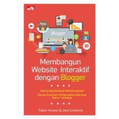 Membangun Website Interaktif dengan Blogger - Buku Komputer Fathul Husnan & Java Creativity