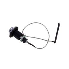 Beli Mhs Output End Pin Jack Socket Piezo Transducer Pickup Untuk Ukulele Perak Dan Hitam Intl Online