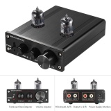 Mini Hifi 6J1 Vacuum Tube Stereo Audio Pre Amplifier Buffer Preamp Paduan Aluminium Dengan Power Adapter Intl Asli
