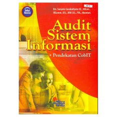 Jual Mitra Wacana Media Audit Sistem Informasi Pendekatan Cobit Branded Original